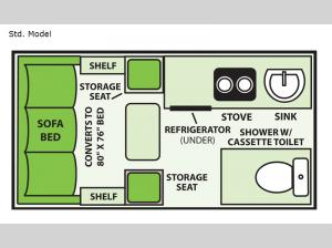 LXE Std. Model Floorplan Image