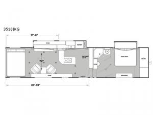 Iconic Wide Body 3518IKG Floorplan Image