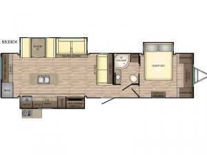 Sunset Trail Grand Reserve SS33CK Floorplan Image