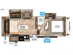 Reflection 29RS Floorplan Image