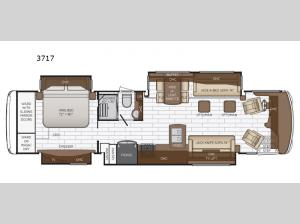 Dutch Star 3717 Floorplan Image