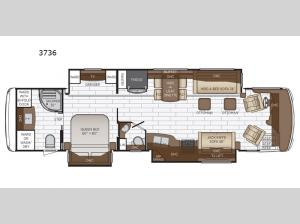 Dutch Star 3736 Floorplan Image