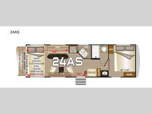 Desert Fox 24AS Floorplan Image