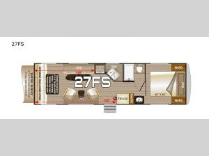 Desert Fox 27FS Floorplan Image