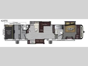 Raptor 425TS Floorplan Image