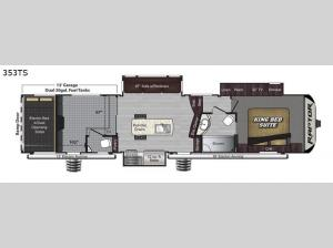 Raptor 353TS Floorplan Image