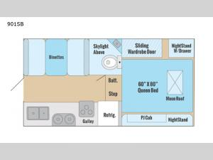 Adventurer 901SB Floorplan Image