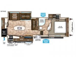 Reflection 307MKS Floorplan Image