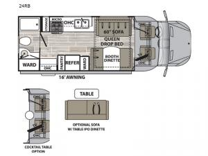isata 3 24RB Floorplan Image