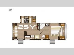 Arctic Fox North Fork 25Y Floorplan Image