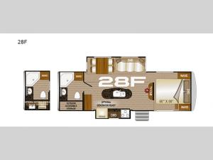 Arctic Fox North Fork 28F Floorplan Image