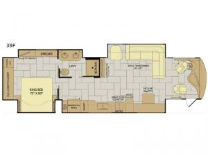 Discovery LXE 39F Floorplan Image