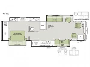 Allegro RED 37 PA Floorplan Image