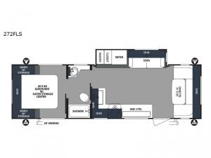 Surveyor 272FLS Floorplan Image