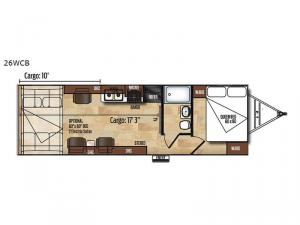 Work and Play 26WCB Floorplan Image