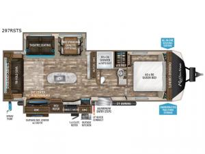 Reflection 297RSTS Floorplan Image