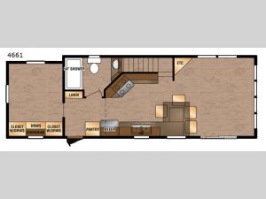 Island Series 4661 Floorplan Image
