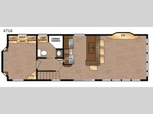 Island Series 4716 Floorplan Image