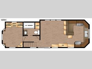Island Series 4894 Floorplan Image
