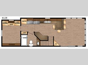 Island Series 6128 Floorplan Image
