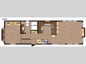 Island Series 6203 Floorplan Image