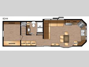 Island Series 6244 Floorplan Image