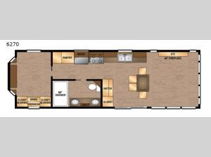 Island Series 6270 Floorplan Image