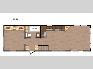Lakeside LE Series 8113 Floorplan Image
