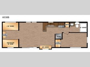 Lakeside Series 6038B Floorplan Image