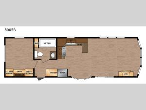 Lakeside Series 8005B Floorplan Image