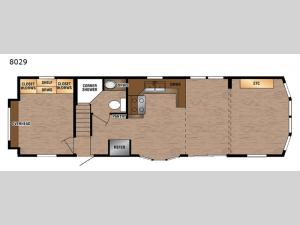 Lakeside Series 8029 Floorplan Image