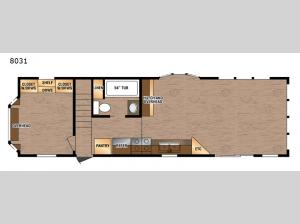 Lakeside Series 8031 Floorplan Image