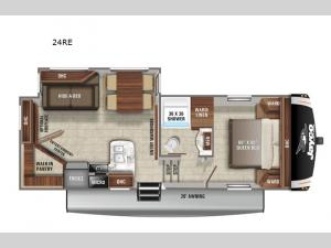 Eagle HT 24RE Floorplan Image
