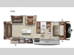 Eagle HT 27RS Floorplan Image