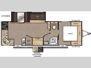 Catalina Summit Series 8 271RKS Floorplan Image