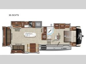 Eagle HT 30.5CKTS Floorplan Image