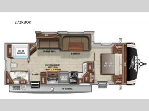 Eagle HT 272RBOK Floorplan Image
