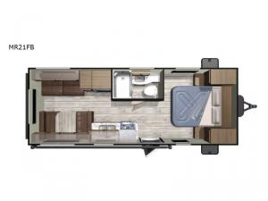 Mesa Ridge Conventional MR21FB Floorplan Image