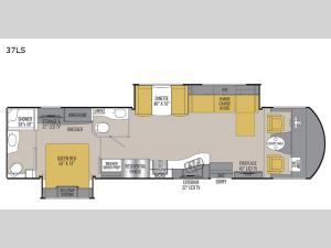 Mirada Select 37LS Floorplan Image