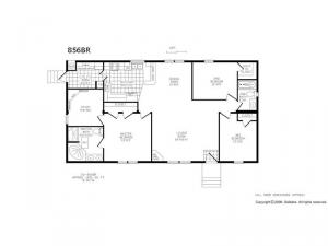 Double Section 856 BR Floorplan Image
