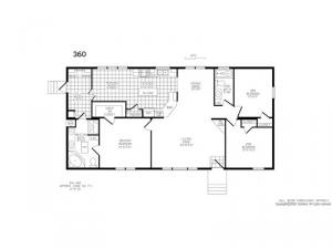 Double Section 360 Floorplan Image