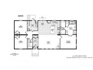 Double Section GE64 Floorplan Image