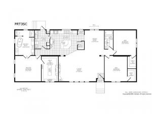Double Section PRT 3 SC Floorplan Image