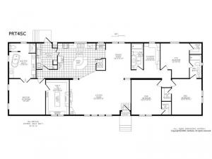 Double Section PRT 4 SC Floorplan Image
