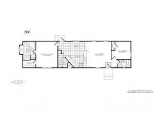Single Section 266 Floorplan Image