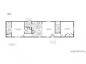 Single Section 270 Floorplan Image