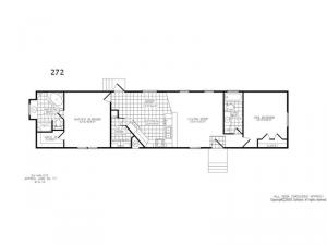 Single Section 272 Floorplan Image