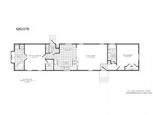 Single Section GKU 278 Floorplan Image