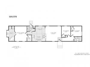 Single Section GKU 378 Floorplan Image