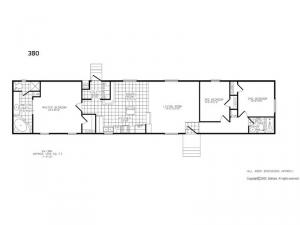 Single Section 380 Floorplan Image